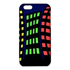 Colorful abstract city landscape iPhone 6/6S TPU Case