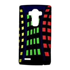 Colorful abstract city landscape LG G4 Hardshell Case