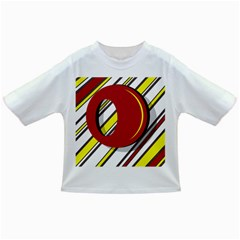 Red and yellow design Infant/Toddler T-Shirts