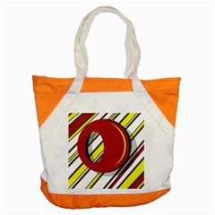 Red and yellow design Accent Tote Bag