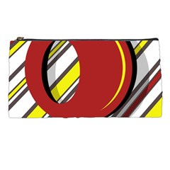 Red and yellow design Pencil Cases