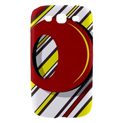 Red and yellow design Samsung Galaxy S III Hardshell Case