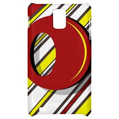 Red and yellow design Samsung Infuse 4G Hardshell Case