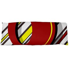 Red and yellow design Body Pillow Case Dakimakura (Two Sides)