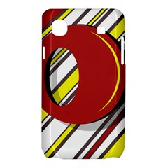 Red and yellow design Samsung Galaxy SL i9003 Hardshell Case