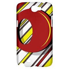 Red and yellow design Samsung Galaxy Note 2 Hardshell Case