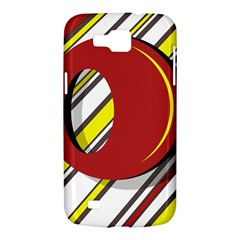 Red and yellow design Samsung Galaxy Premier I9260 Hardshell Case