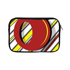 Red and yellow design Apple iPad Mini Zipper Cases
