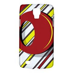 Red and yellow design Galaxy S4 Active