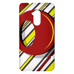 Red and yellow design HTC One Max (T6) Hardshell Case