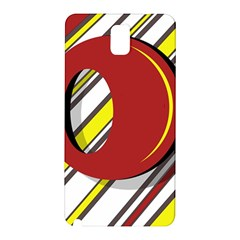 Red and yellow design Samsung Galaxy Note 3 N9005 Hardshell Back Case