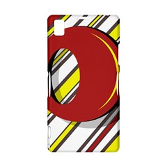 Red and yellow design Sony Xperia Z1