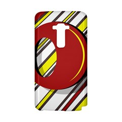 Red and yellow design LG G Flex