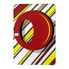 Red and yellow design Samsung Galaxy Tab Pro 12.2 Hardshell Case
