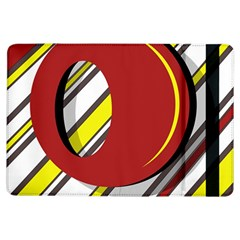 Red and yellow design iPad Air Flip