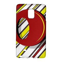 Red and yellow design Galaxy Note Edge