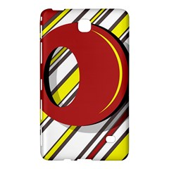 Red and yellow design Samsung Galaxy Tab 4 (8 ) Hardshell Case