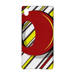 Red and yellow design Sony Xperia Z3+