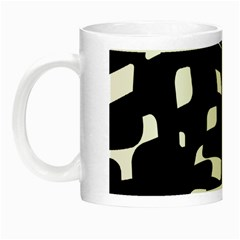 Black and white pattern Night Luminous Mugs