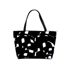 Black and white pattern Shoulder Handbags