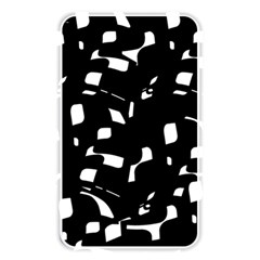 Black and white pattern Memory Card Reader