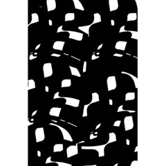 Black and white pattern 5.5  x 8.5  Notebooks