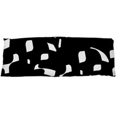 Black and white pattern Body Pillow Case Dakimakura (Two Sides)