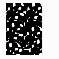 Black and white pattern Large Garden Flag (Two Sides)