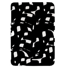 Black and white pattern Samsung Galaxy Tab 8.9  P7300 Hardshell Case