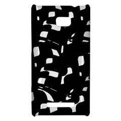 Black and white pattern HTC 8X
