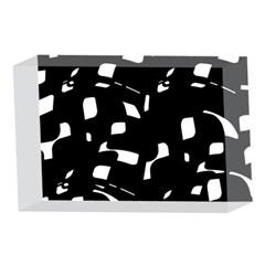 Black and white pattern 4 x 6  Acrylic Photo Blocks