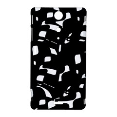 Black and white pattern Sony Xperia TX
