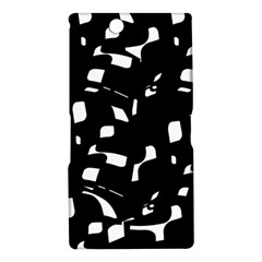 Black and white pattern Sony Xperia Z Ultra
