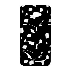 Black and white pattern HTC Butterfly S/HTC 9060 Hardshell Case