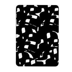 Black and white pattern Samsung Galaxy Tab 2 (10.1 ) P5100 Hardshell Case