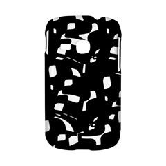 Black and white pattern Samsung Galaxy S6310 Hardshell Case