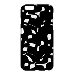Black and white pattern Apple iPhone 6 Plus/6S Plus Hardshell Case