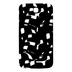 Black and white pattern Samsung Galaxy Mega I9200 Hardshell Back Case