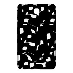Black and white pattern Samsung Galaxy Tab 4 (8 ) Hardshell Case