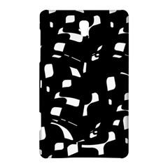 Black and white pattern Samsung Galaxy Tab S (8.4 ) Hardshell Case