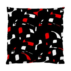 Red, black and white pattern Standard Cushion Case (One Side)