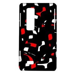 Red, black and white pattern LG Optimus Thrill 4G P925