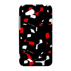 Red, black and white pattern HTC Desire VC (T328D) Hardshell Case