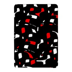 Red, black and white pattern Samsung Galaxy Tab Pro 10.1 Hardshell Case