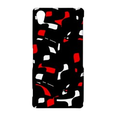 Red, black and white pattern Sony Xperia Z2