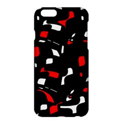 Red, black and white pattern Apple iPhone 6 Plus/6S Plus Hardshell Case