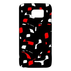 Red, black and white pattern Galaxy S6
