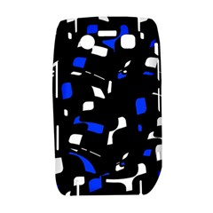 Blue, black and white  pattern Bold 9700