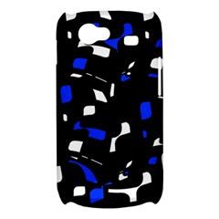 Blue, black and white  pattern Samsung Galaxy Nexus S i9020 Hardshell Case