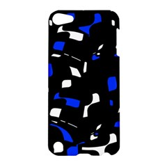 Blue, black and white  pattern Apple iPod Touch 5 Hardshell Case